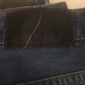 222 jeans size 38